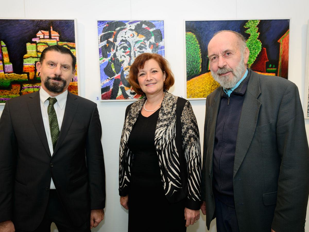 Ausstellungseröffnung: Gottfried Hula